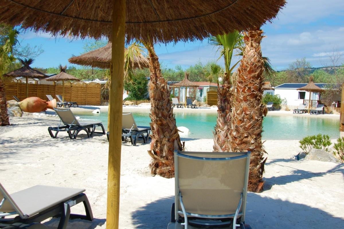 Notre lagon de baignade camping soleil d 39 oc for Camping narbonne plage avec piscine