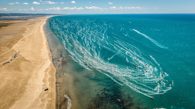 Défi Wind de Gruissan, un événement mondial