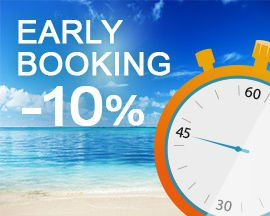 Early Booking 2019 c'est 10% de remise