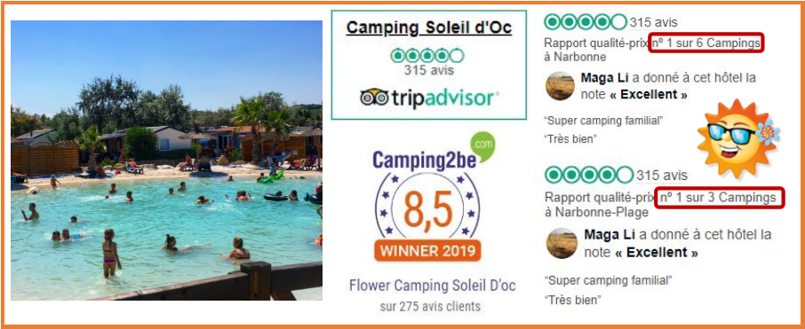 Avis camping soleil d'oc