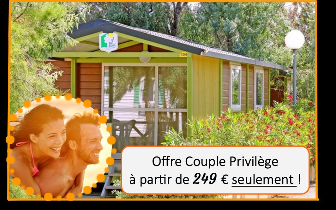 Offre couple Saint-Valentin à partir de 196€