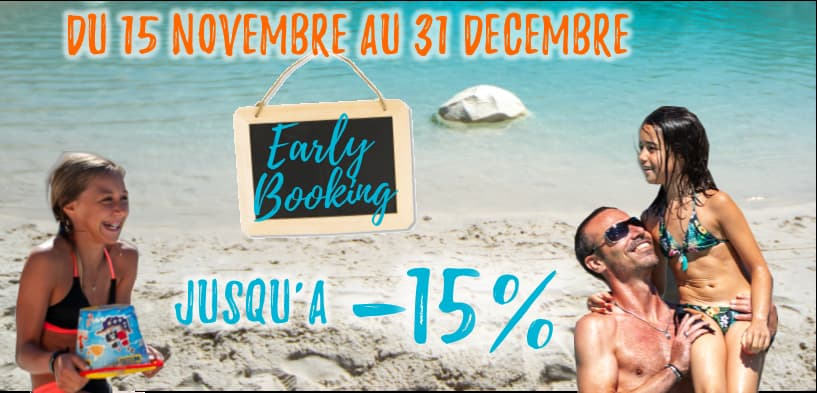 Ouverture du Early Booking au Camping Soleil d'Oc ! 🌞