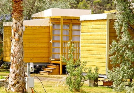 Camping Soleil d'Oc - Locatif Cabane Nature ECO