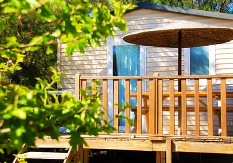 Camping Soleil d'Oc - Locatif Mobil-Home ECO OASIS