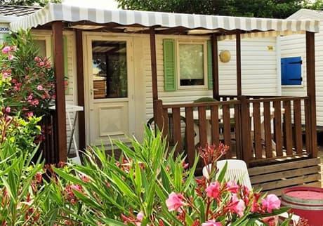 Camping Soleil d'Oc - Locatif Mobil-Home CONFORT SAFARI