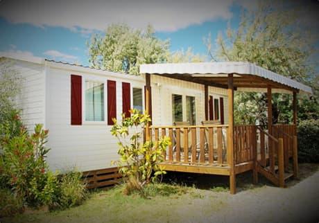 Camping Soleil d'Oc - Locatif Mobil-Home CONFORT TROPIC