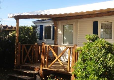 Camping Soleil d'Oc - Locatif Mobil-Home ECO CARAIBES
