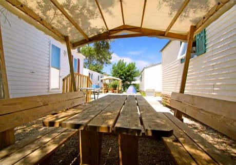 Camping Soleil d'Oc - Locatif Mobil-home ECO  LUNDI