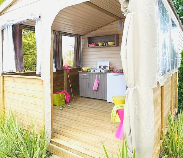 Camping Soleil d'Oc - Locatif Mobil-Home Vacancial ECO