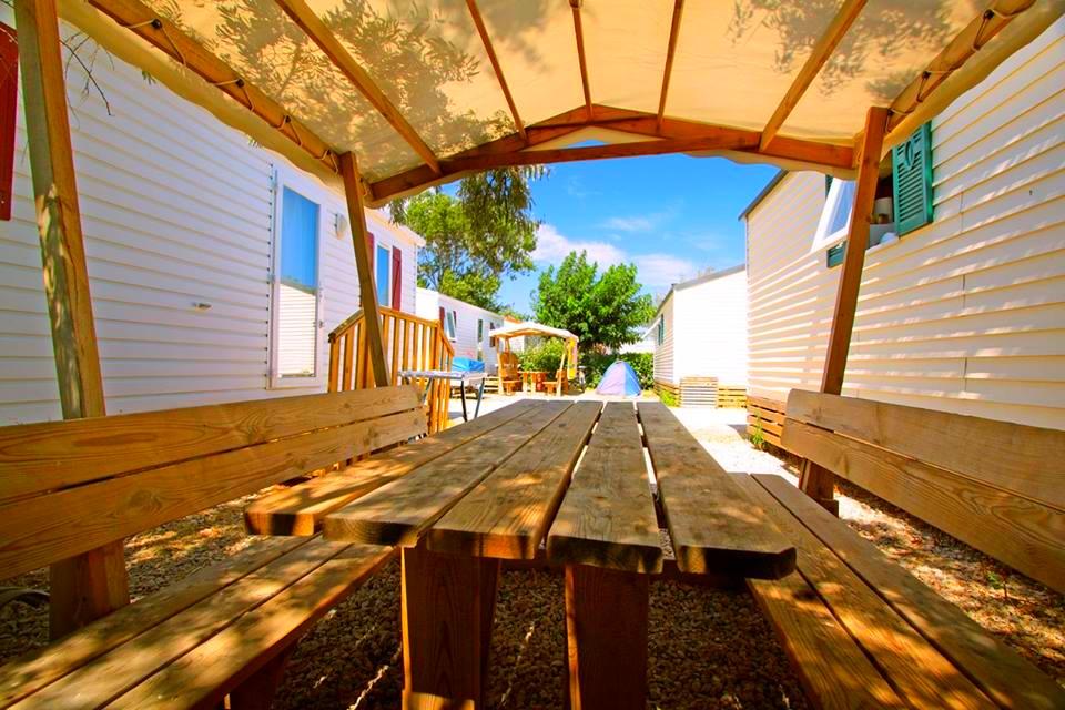 Camping Soleil d'Oc - Locatif Mobil-Home ECO DIMANCHE